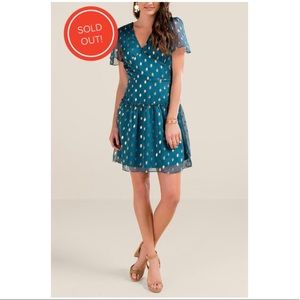 2/$13 NWT Francescas MARIANA SHINE SKATER DRESS